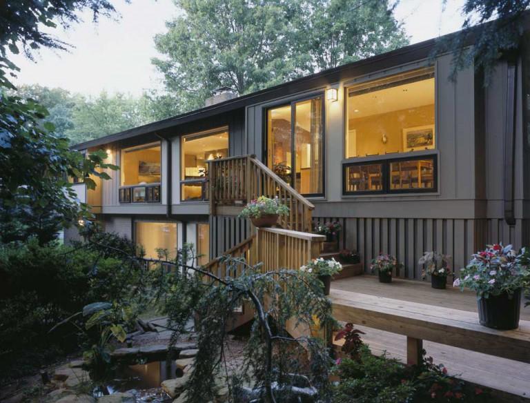 Habitable art fisher group llc for 70s house exterior