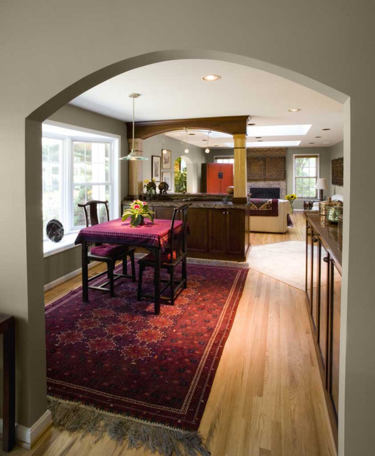 Kitchen Dining Room Remodel: Contemporary & Comfortable