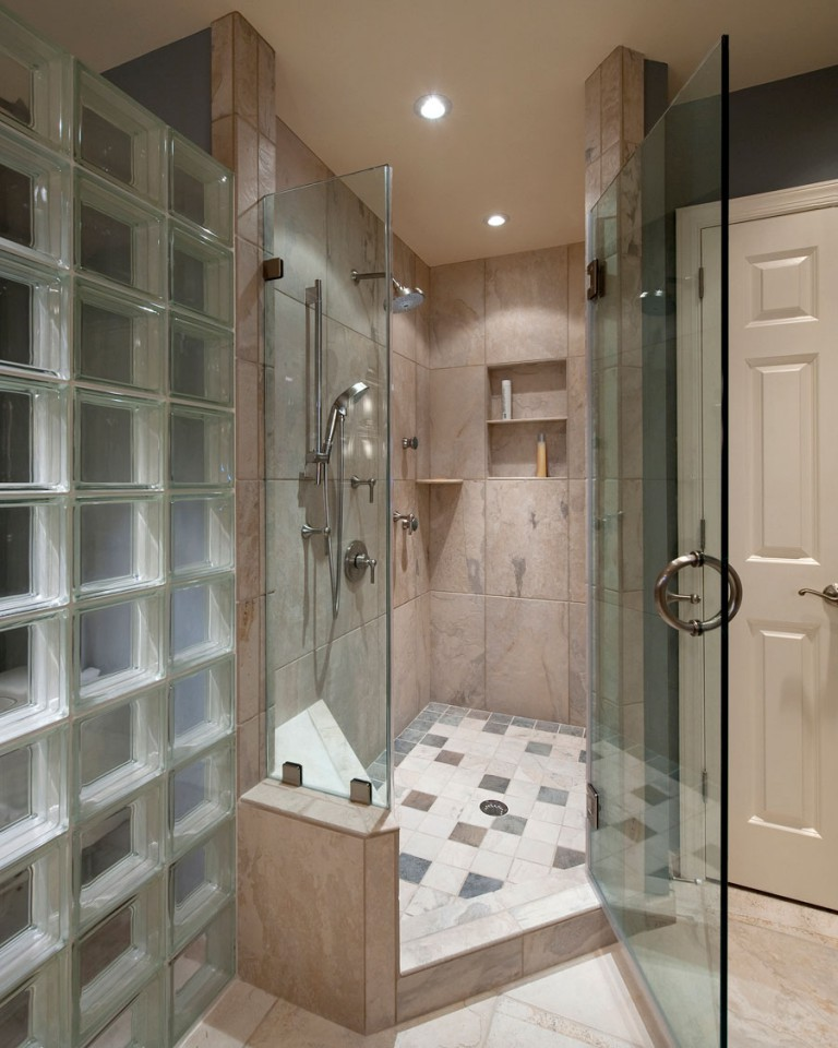 VIEW OF SHOWER