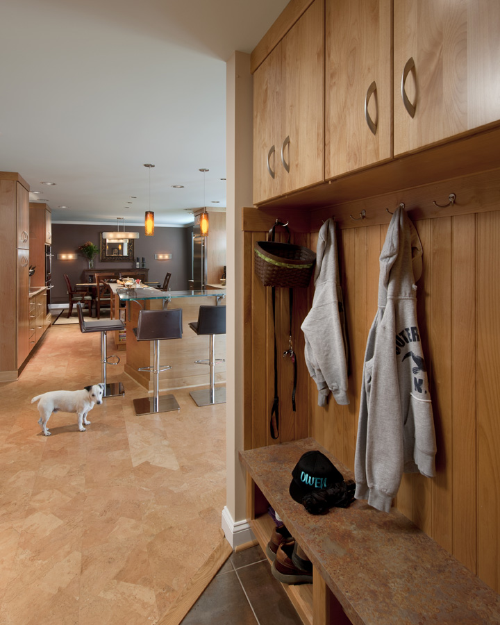 VIEW OF MUD ROOM AREA