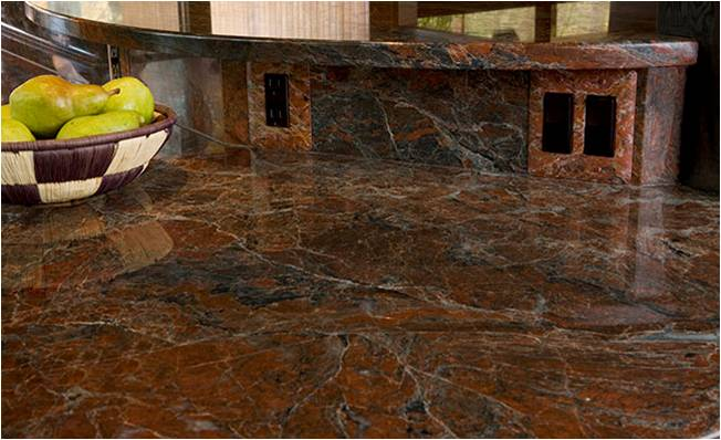 chocolate granite